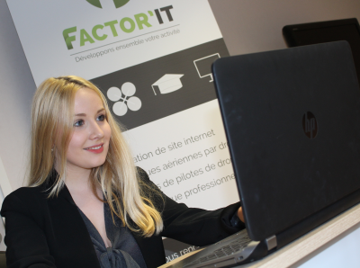 Factor'IT - Charlotte rejoint l'équipe Factor'IT